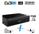CRYPTO DVB-S2 RECEIVER [ReDi S100P] H.264 FHD PVR Ready with Dolby, ,