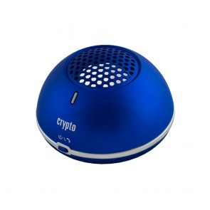 CRYPTO BLUETOOTH SPEAKER [MAGNET POWER 10] METALLIC BLUE, W004853,